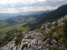 Škrapy na skale Čereňa