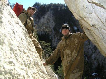 Vo vstupe do jaskyne