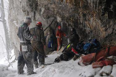 Žilinskí jaskyniari po návšteve jaskyne
