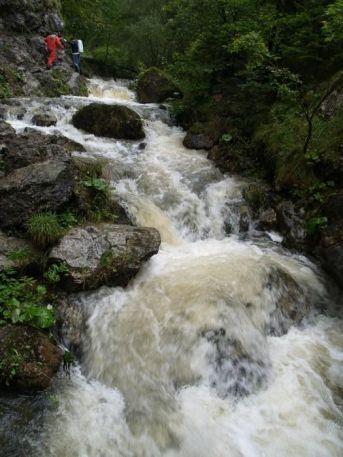 Vody je v Prosiečanke ako na jar
