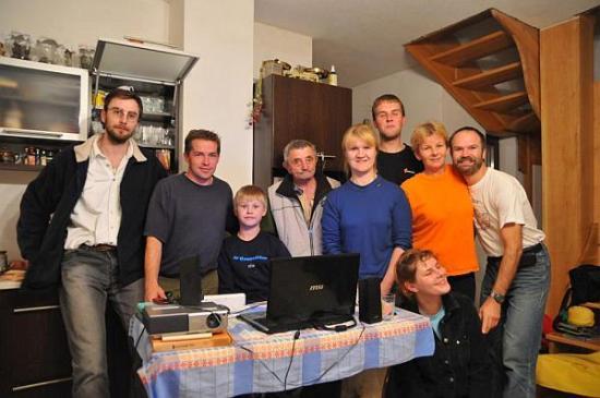Účastníci na členskej schôdzi v r.2010