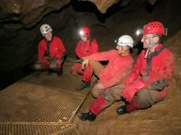 15_Sprievodcovia Cassovie v Kossuth barlang