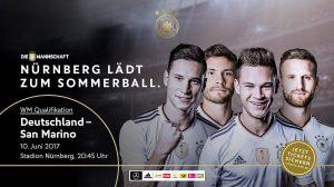 Bildergebnis für Sommerball nach Nürnberg Dfb