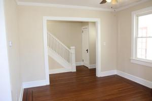 After - Living Room and Foyer