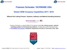2017-2018 Freeman Schwabe Company Capabilities March 2017.002