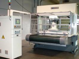 CNC 3 Axis Traveling Head Hydraulic Cutting Press