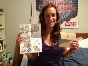 gift #9 - Note & pic from Murph