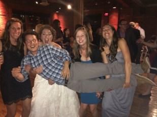Some of the Earlham Crew: Elby, Kirk, Liz, Abi