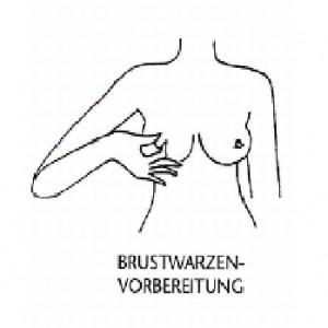 Brustwarzenvorbereitung