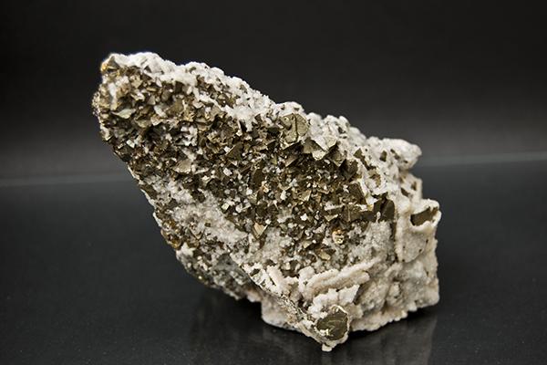Calcite with Pyrite - Schwartz Fine Minerals