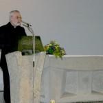 Pater Dietmar Weber bei seiner Danksagung