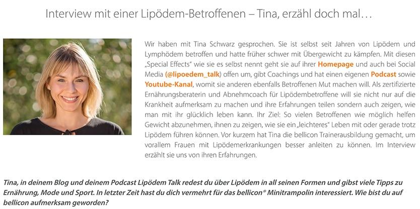 Bellicon Blog Tina Schwarz