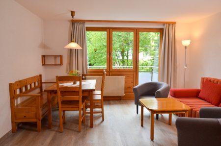 Wohn-/Essbereich mit Ausgang Balkon