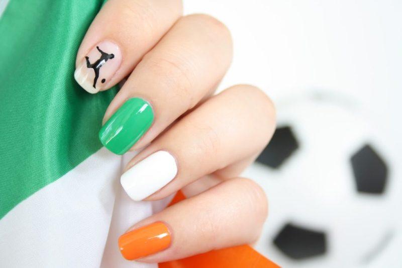 EM 2016 Nailart Irland
