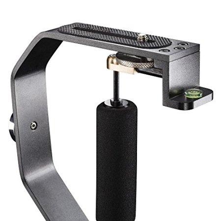 Mantona Schwebestativ (inkl. Gegengewichten, 1/4 Zoll, geeignet für Action Cams und Camcorder) -