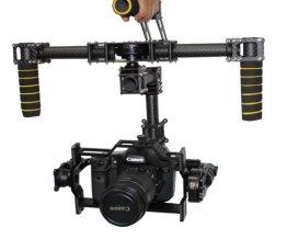 DSLR bürstenlose Gimbal 3 Axis Kamera Gimbal Gimbal Motor mit Griff und Controller Board für 5D2 5D3 7D GH2 D900 -