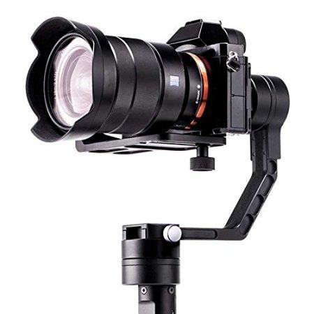 LETWING Zhiyun Crane 3-Achsen-Stabilisierte Hand Gimbal für DSLR Canon, Nikon, Sony Alpha 7 und Panasonic -