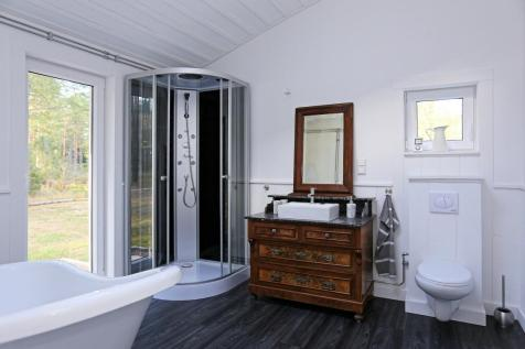 Badezimmer mit Wellnessdusche