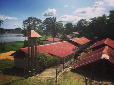 Hospital de Lambaréne (Gabón). Autor: Ezra J. Barzilay