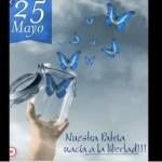 Saludo de docentes e integrantes del Nivel Secundario por el 25 de Mayo