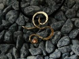 pendant nugold, copper - 1