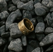 ring rlbrass size 8.75 - 4