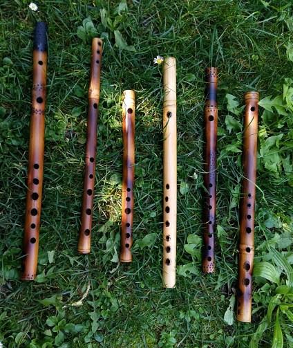 Bamboo mini flutes Shibbabeh scale