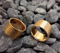 bronze rings size 6 width 11mm - 2