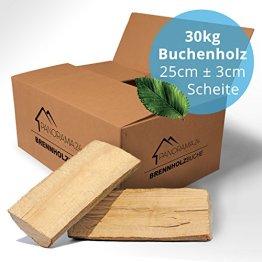 30 kg Brennholz Kaminholz Feuerholz reine Buche ofenfertig kammergetrocknet in 25cm -