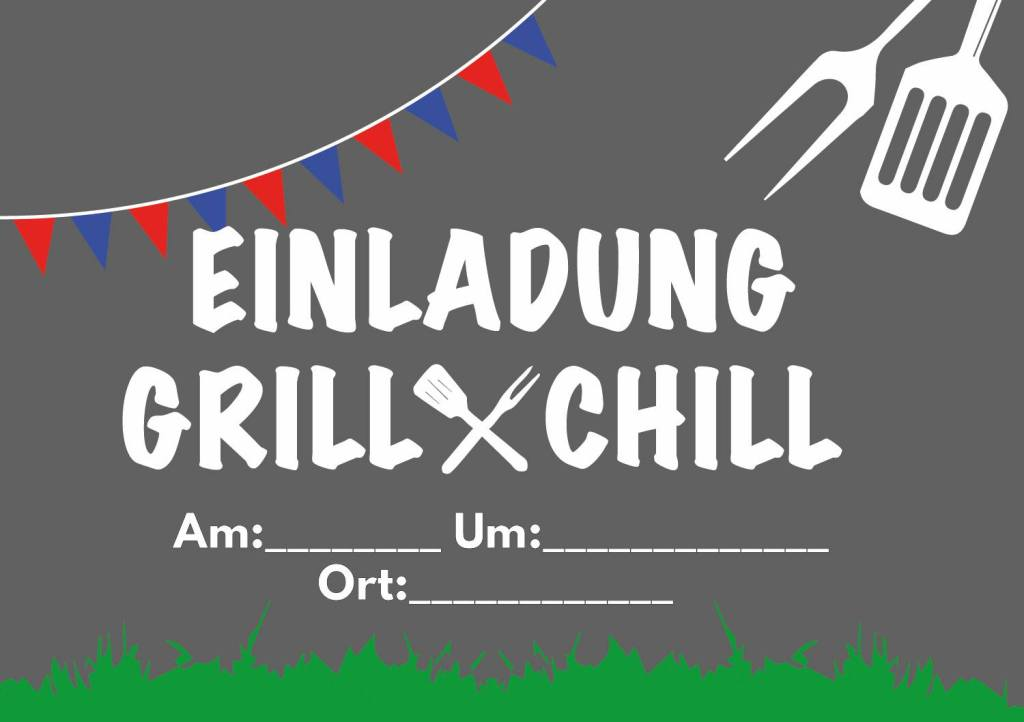 Grillparty richtig planen