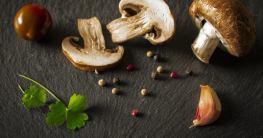 Knoblauch-Pilz-Spieße