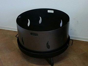 Czaja Stanzteile Funkenschutz Ø 80 cm für eine Feuerschale - 6