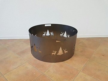 Czaja Stanzteile Funkenschutz Wild (80 cm) Feuerschale - 6