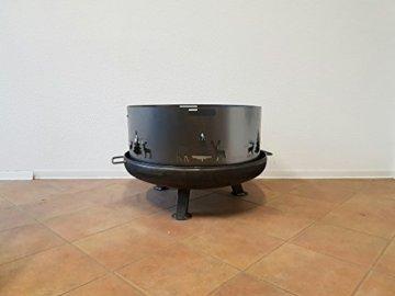 Czaja Stanzteile Funkenschutz Wild (80 cm) Feuerschale - 9