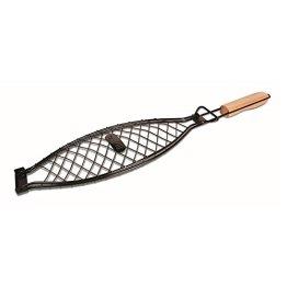 Jim Beam Grillzubehör, Grillkorb für große Fische JB0116, schwarz, 44.3x14.7x3 cm, 700540 - 1