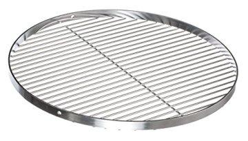 Brandsseller Edelstahl Grillrost Schwenkgrill geeignet - Rostfrei Edelstahl 18/0 Asi 430 Nickel frei - Ø 70 cm - 1