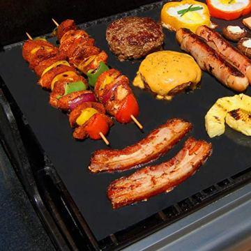 KOMOTO® BBQ Grillmatte (3er Set) 50x40 cm I Extra Dick I Für Gasgrill und Holzkohle - 5