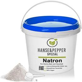 5kg Natron Pulver Premium-Qualität Ökologisch Backpulver E500 NaHCO3 - Plus Serie - 1