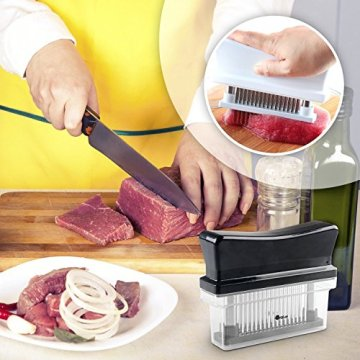 ORBLUE Fleischzartmacher mit 48 Edelstahlklingen - 4
