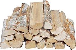 Hoyo Technology GmbH 30 kg Birke frisch Kaminholz Brennholz Feuerholz Grillholz - 1