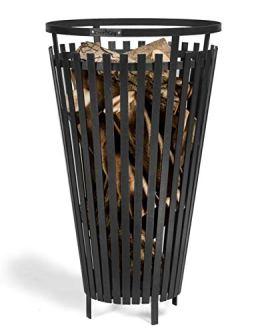 Feuerkorb Flame Ø 45cm Feuerstelle für den Garten aus Stahl Feuersäule als Wärmequelle oder Grill CookKing - 1