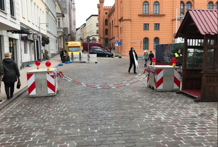 Schwerin: Polizei wieder verstärkt auf Weihnachtsmarkt