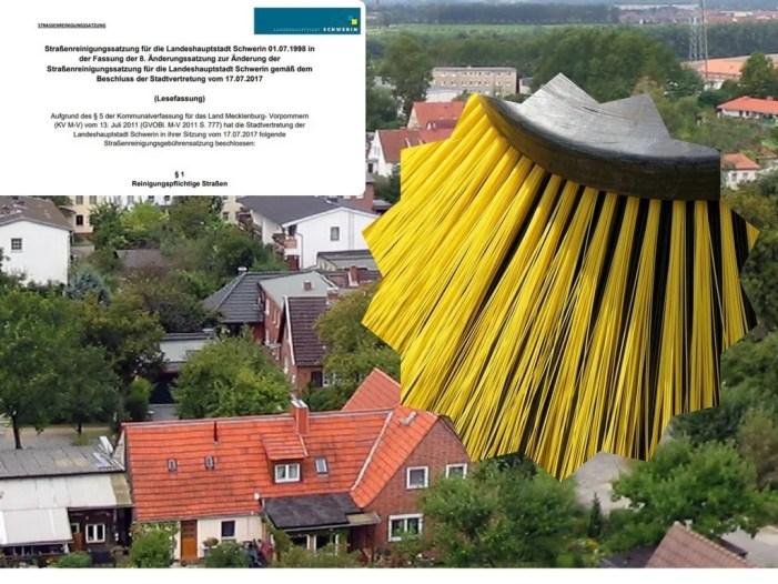 Strassenreinigung in Schwerin: UB möchten Satzungsänderung