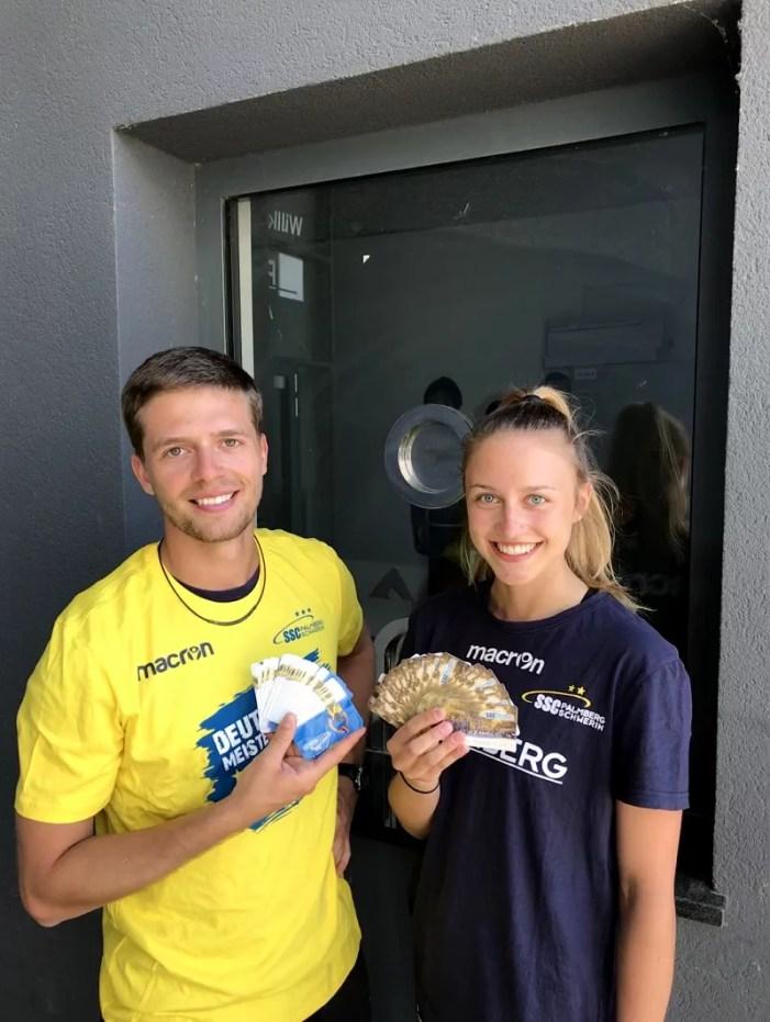 Volleyballmeister startet Dauerkartenverkauf für die neue Saison