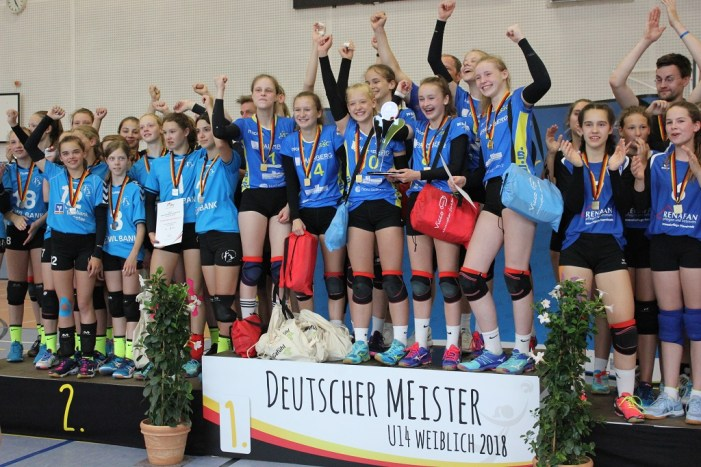 Sichtung junger Volleyballtalente