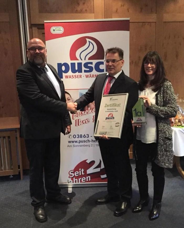1a-Arbeitgeber im Handwerk – Auszeichnung für Crivitzer Handwerksbetrieb