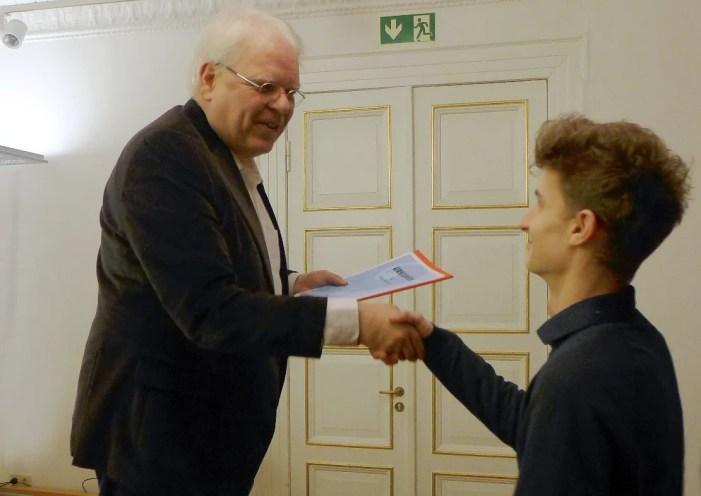 Weitere Schüler des Konservatoriums Schwerin nun Jungstudenten in der YARO