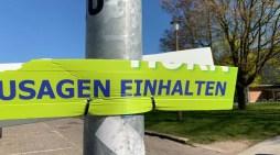 Wählergemeinschaft Unabhängige Bürger Schwerin beklagt Vandalismus im Wahlkampf
