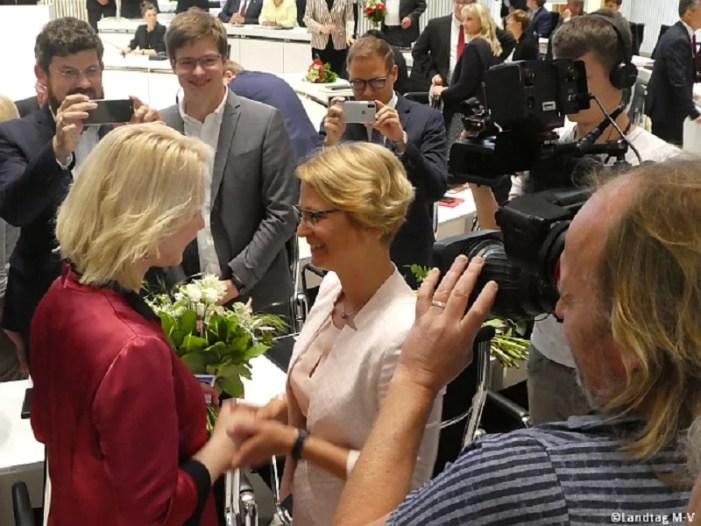 Landtag MV: Hesse zittert sich zur Landtagspräsidentin