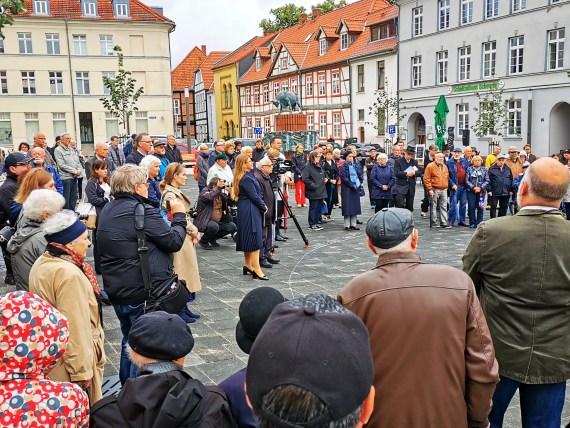 Trauerandacht: William Wolff bleibt ein Schweriner